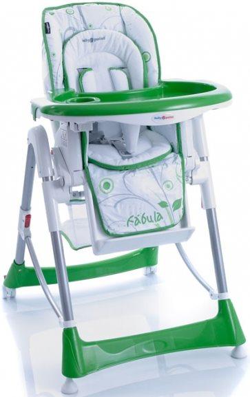 Стульчик для кормления baby point fabula 2012 зеленый 04